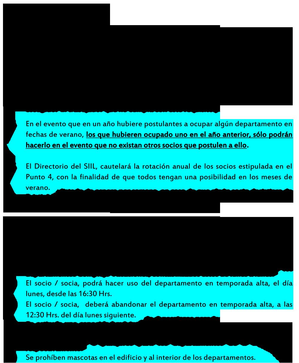 (REGLAMENTO COMPLEJO VACACIONAL SIIL-2