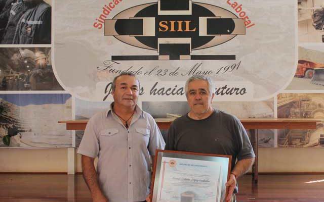 DIRECTORIO DEL SIIL RECONOCE A EX SOCIO LEONEL LÓPEZ CONTADOR