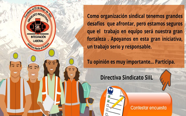 INVITAN A SOCIAS Y SOCIOS A RESPONDER 1° ENCUESTA SIIL