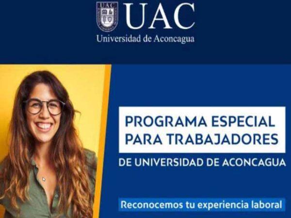 RESPECTO A CONVENIO PROGRAMA TRABAJADOR CON LA UNIVERSIDAD DE ACONCAGUA